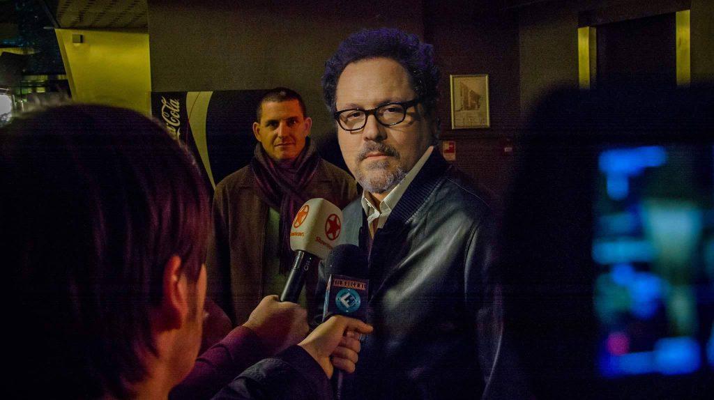 Jon Favreau loopt boos weg bij The Lion King interview 1