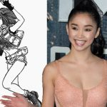 Lana Condor in Alita: Battle Angel