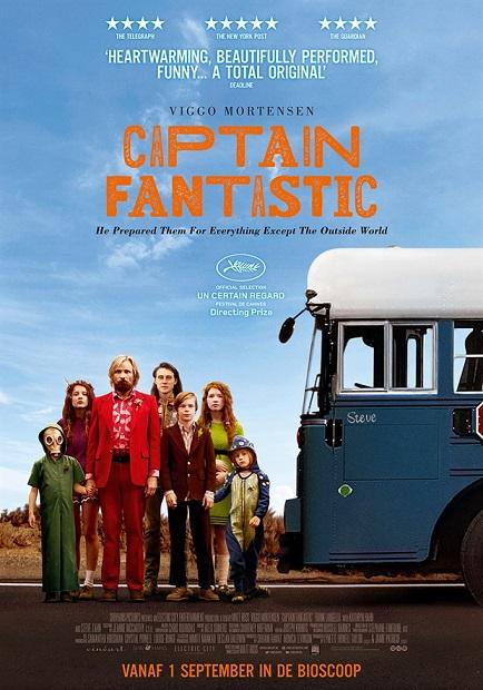 Recensie Captain Fantastic (Guus Tijssen)