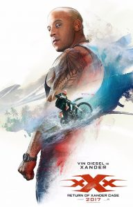 xXx: Return of Xander Cage personage posters