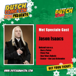 Jason Isaacs aanwezig op Dutch X-Mas Con 2016