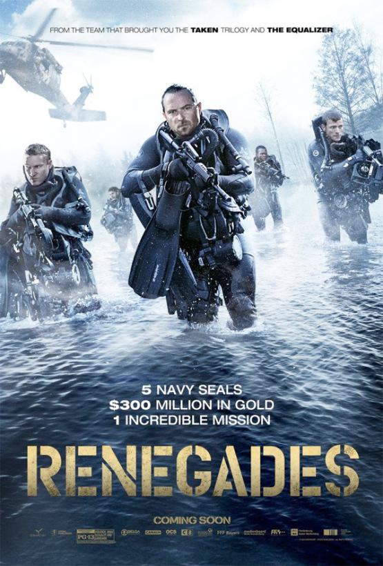 Eerste trailer en poster voor Renegades