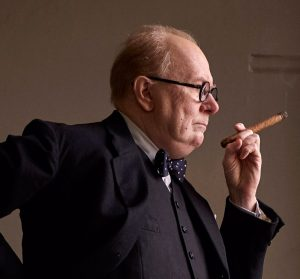 Gary Oldman als Winston Churchill in Darkest Hour