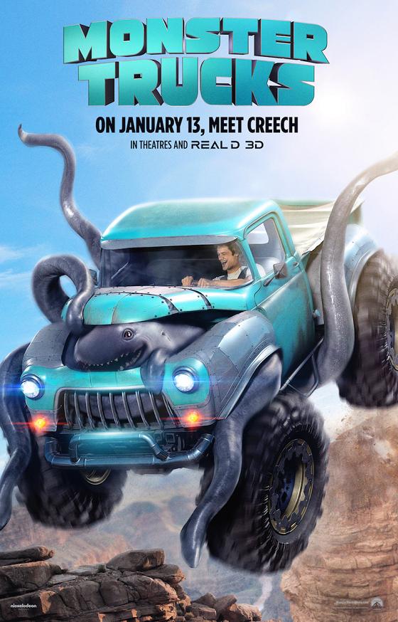 Monster Trucks trailer met Lucas Till