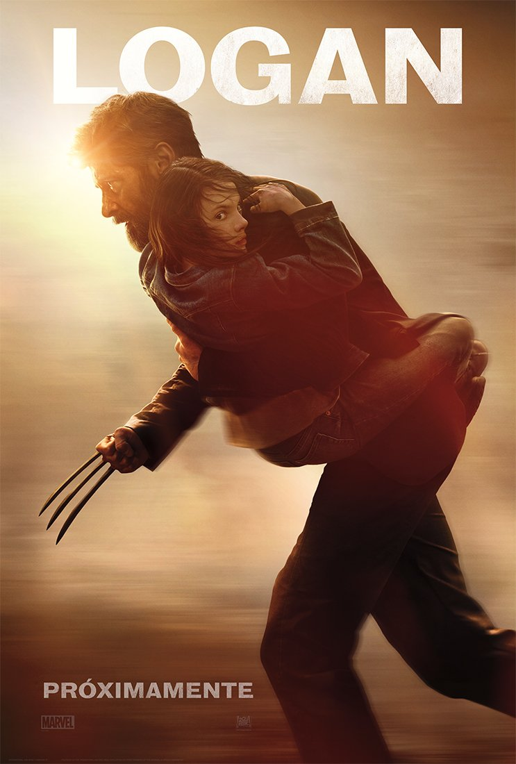 Nieuwe poster voor Logan