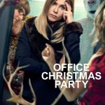 Office Christmas Party trailer en personage posters