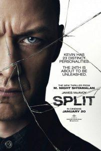 Nieuwe poster M. Night Shyamalan's Split
