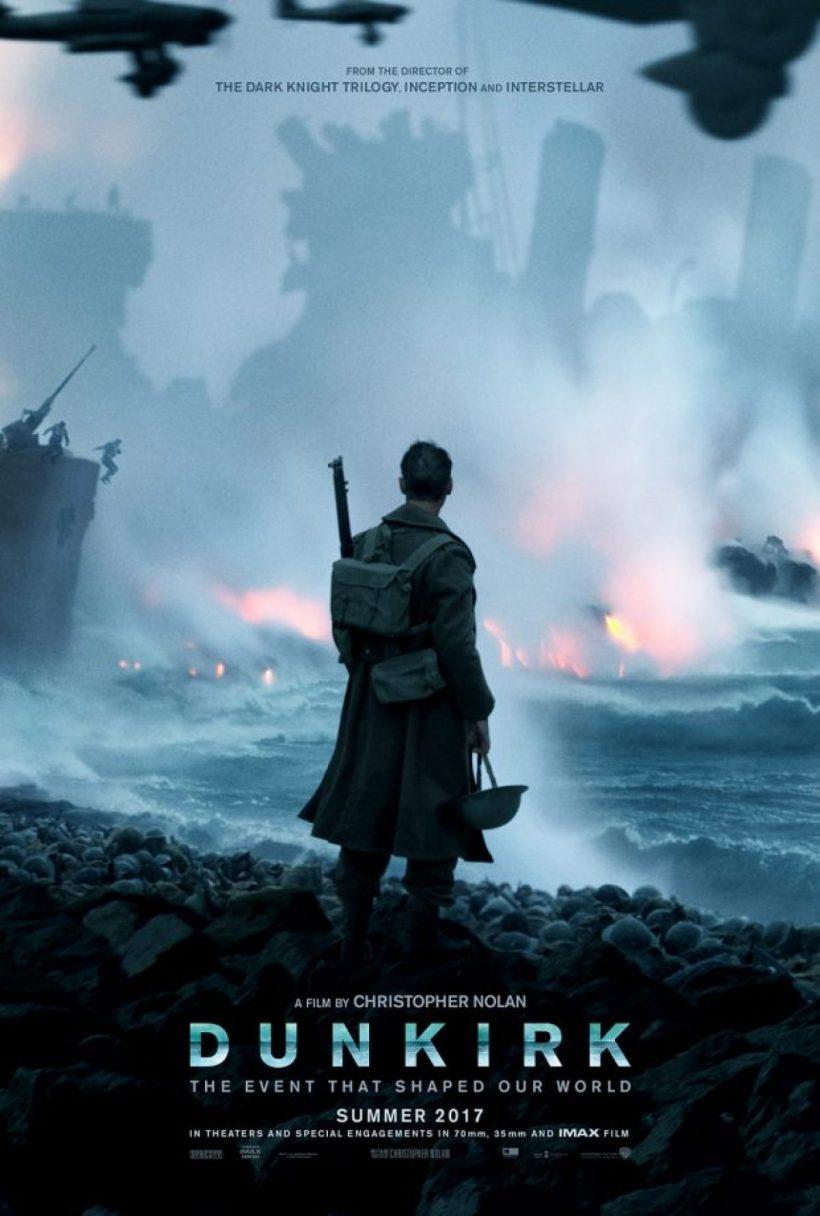 Indrukwekkende poster voor Christopher Nolan's Dunkirk