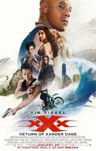 Nieuwe poster voor xXx: Return of Xander Cage