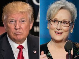Donald Trump noemt Meryl Streep 'over-rated' na Globes