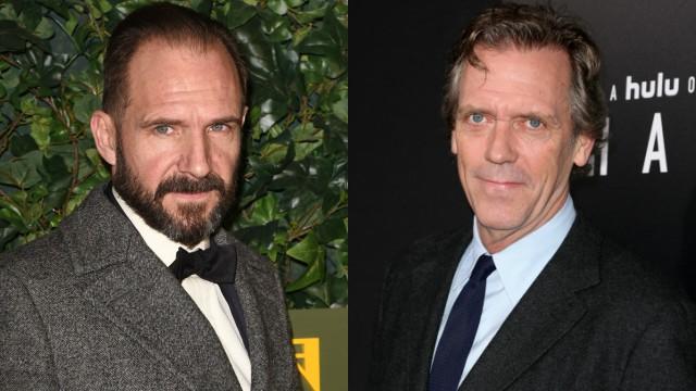 Ralph Fiennes en Hugh Laurie in Holmes and Watson