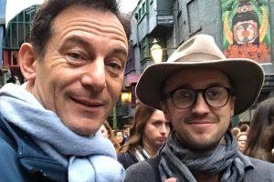 Jason Isaacs en Tom Felton hebben een Harry Potter-reünie