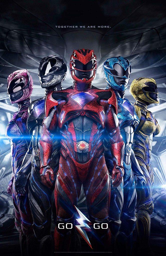 Nieuwe Power Rangers film poster