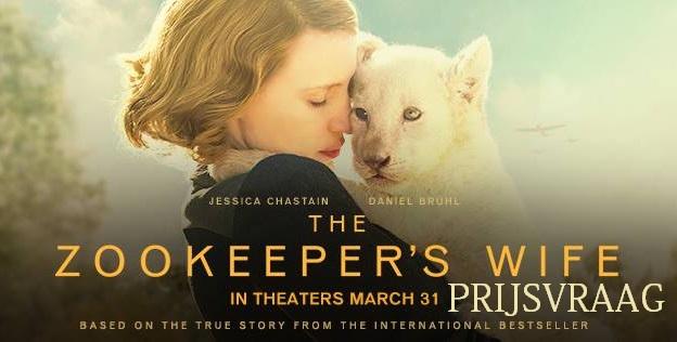 Prijsvraag The Zookeeper's Wife – Beëindigd