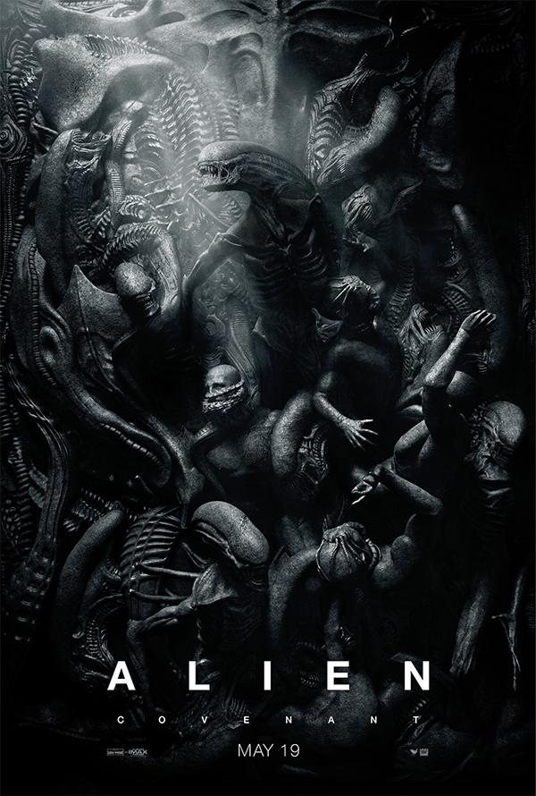 Nieuwe Alien: Covenant poster, geïnspireerd op klassieke kunst