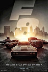 Nieuwe Fate of the Furious IMAX-poster