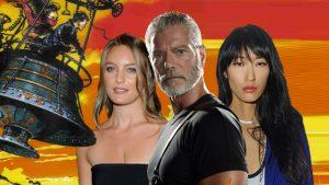 Stephen Lang, Jihae en Leila George in Peter Jackson's Mortal Engines