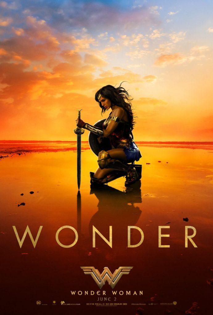 Nieuwe Wonder Woman poster