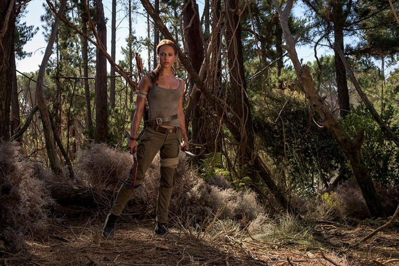 Eerst Lara Croft foto's en synopis Tomb Raider reboot