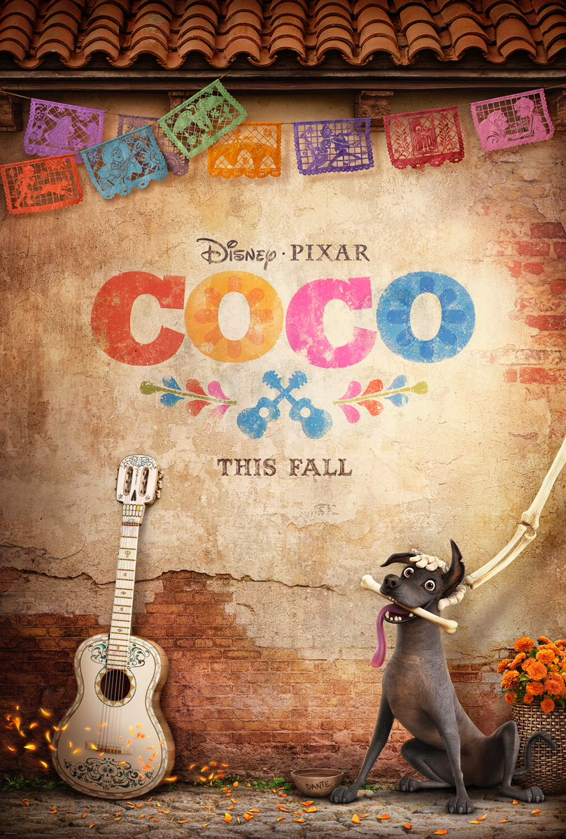 Nieuwe poster Disney•Pixar's Coco