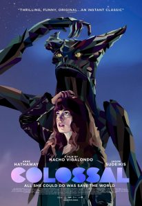 Nieuwe poster Colossal met Anne Hathaway