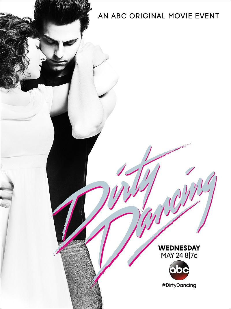 Abigail Breslin & Colt Prattes op poster Dirty Dancing remake