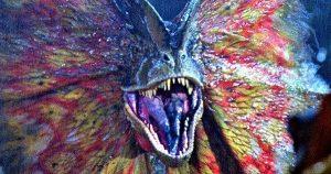 Jurassic World 2 setfoto's ziet terugkeer Dilophosaurus