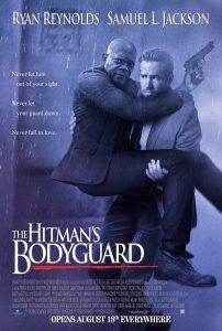 Reynolds en Jackson op The Hitman's Bodyguard poster