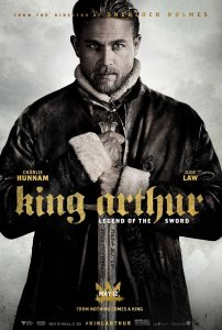 Nieuwe King Arthur: Legend of the Sword poster