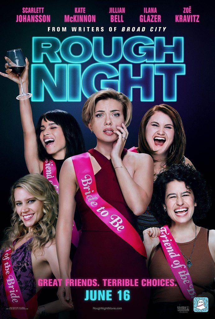Nieuwe Rough Night poster