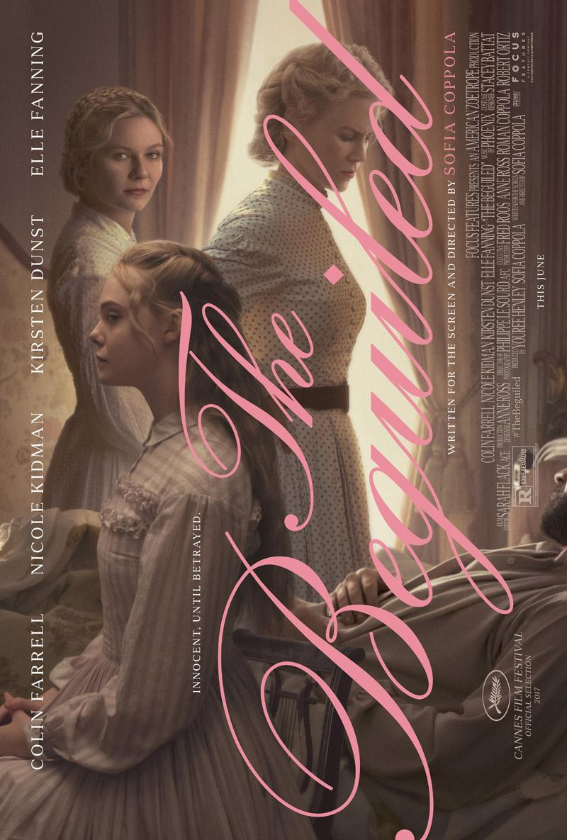 The Beguiled poster met Nicole Kidman en Kirsten Dunst