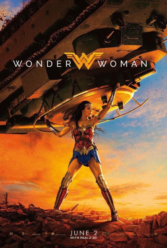 Nog meer Wonder Woman posters