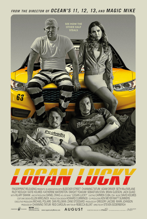 Trailer en poster voor Steven Soderbergh's Logan Lucky