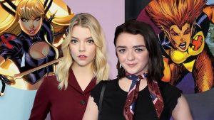 Maisie Williams en Anya Taylor-Joy in X-Men-film New Mutants