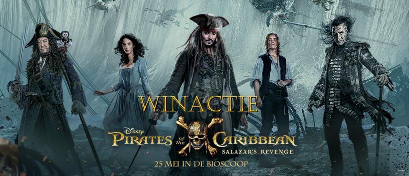 Prijsvraag Pirates of the Caribbean: Salazar's Revenge – Beëindigd