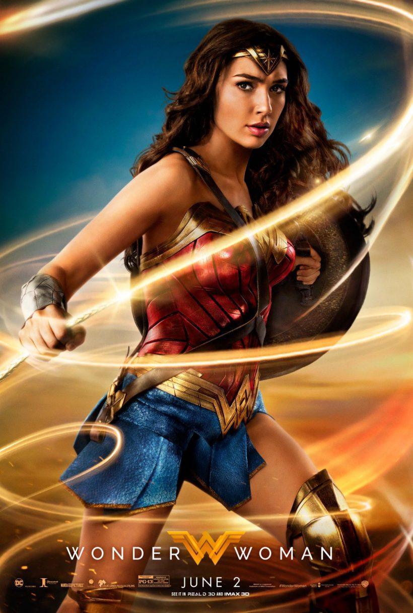 Wonder Woman en haar lasso op nieuwe poster