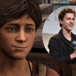 Tom Holland als jonge Nathan Drake in Uncharted
