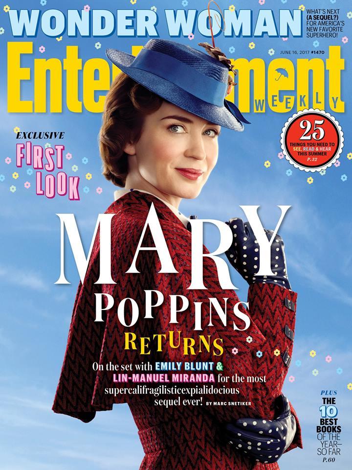 Eerste officiële blik op Emily Blunt als Mary Poppins
