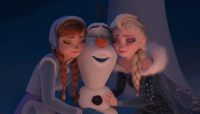 Nieuwe Olaf's Frozen Adventure trailer