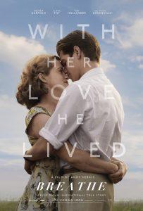 Breathe trailer en poster met Andrew Garfield en Claire Foy