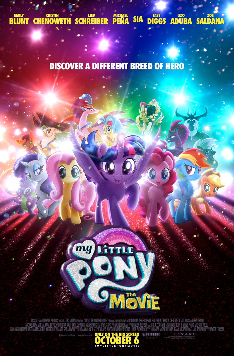 Een nieuw soort held op My Little Pony poster
