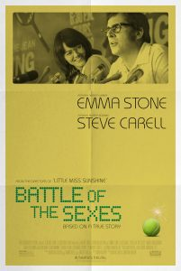 Nieuwe poster voor Battle of the Sexes