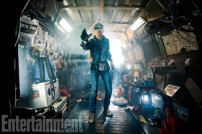 Eerste Steven Spielberg's Ready Player One foto