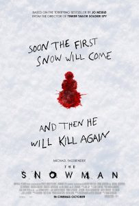 Nieuwe The Snowman posters met Michael Fassbender & Rebecca Ferguson