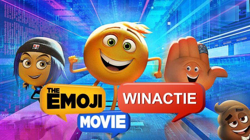 Winactie 2 x 4 vrijkaarten De Emoji Film - Beëindigd