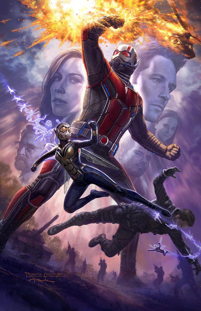 Nieuwe poster en castleden Ant-Man and the Wasp