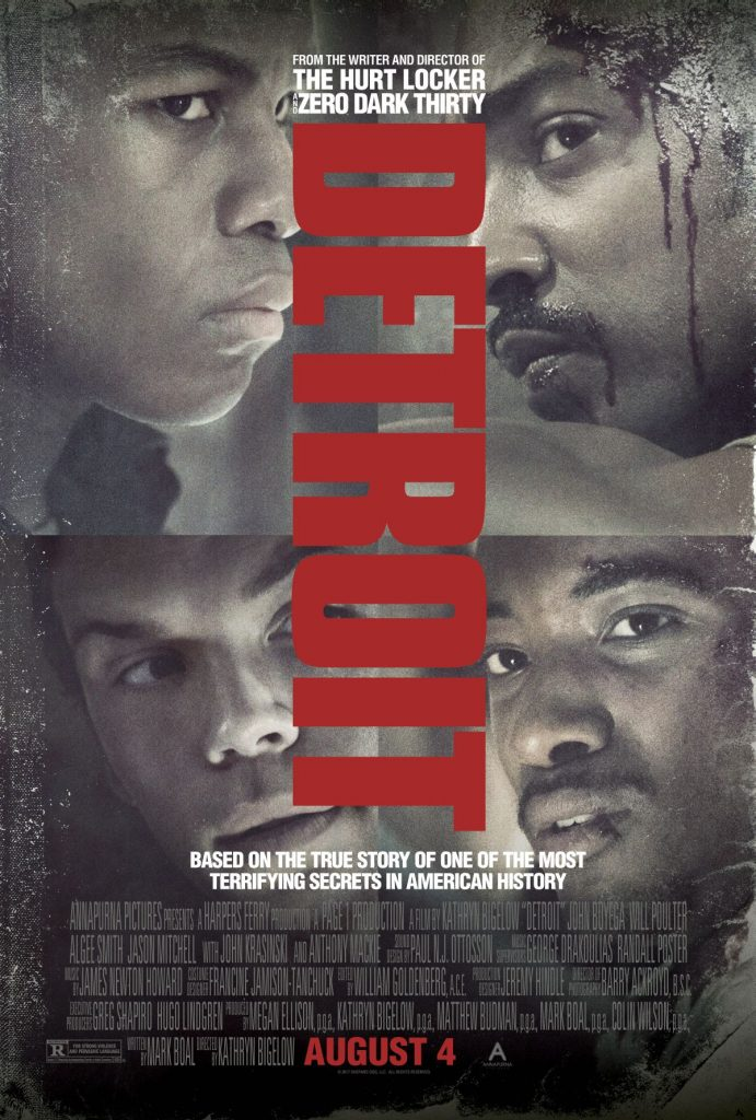 Nieuwe poster Kathryn Bigelow's Detroit