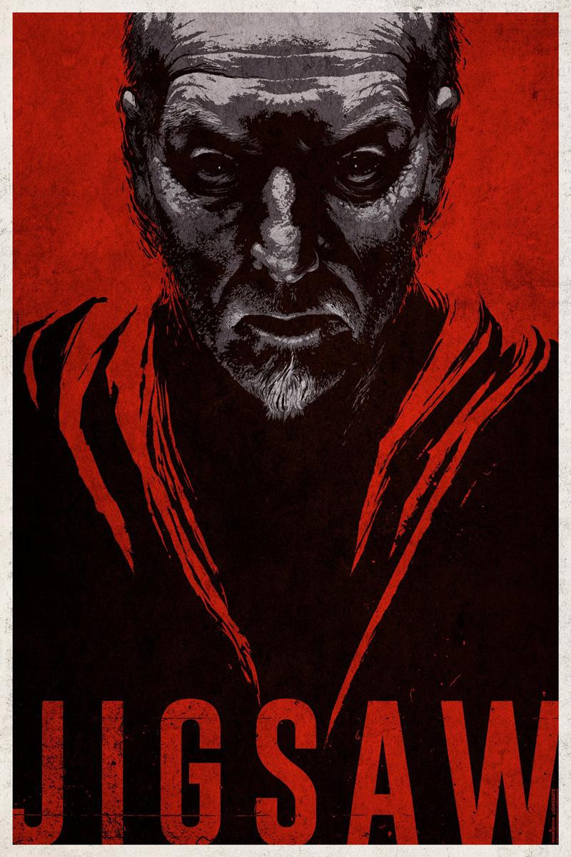 Nieuwe Jigsaw Comic-Con poster ziet terugkeer Tobin Bell