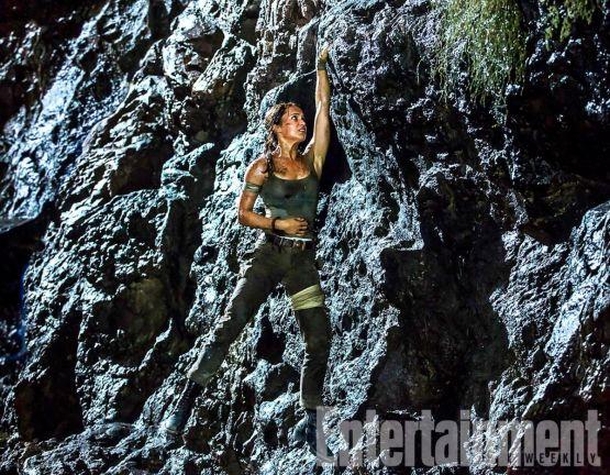 Alicia Vikander als Lara Croft op nieuwe foto Tomb Raider