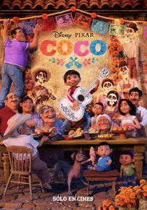Nieuwe internationale poster Disney & Pixar's Coco